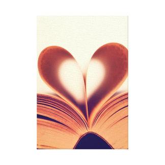 Canvas Wrap ..Book Lovers Canvas Print
