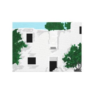 Canvas Wrap /Paleokastro Monastery Greece