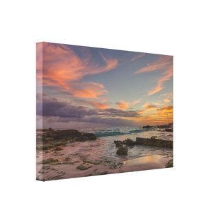 Canvas Wrap - Sunrise over Cancun, Mexico