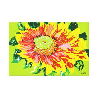 Canvas wrap/ Wild Flower