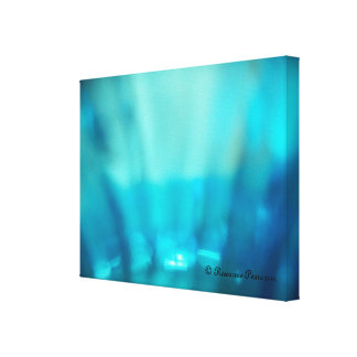 CanvasArt-Blue Chrystal.© Roseanne Pears 2012. Stretched Canvas Prints
