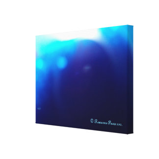 CanvasArt-BlueBubble.© Roseanne Pears 2012. Canvas Prints