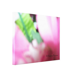 CanvasArt-PinkLilacRoses.© Roseanne Pears 2012. Stretched Canvas Print