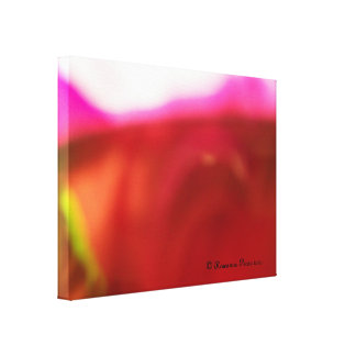CanvasArt-RedRose.© Roseanne Pears 2012. Gallery Wrap Canvas
