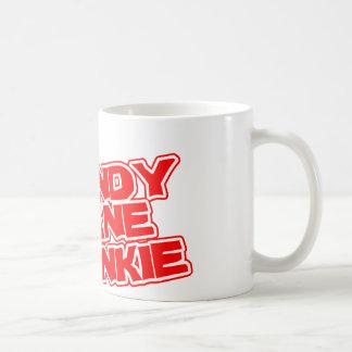 Cany Cane Junkie Coffee Mugs