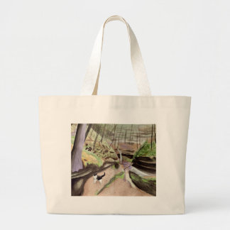 Canyon Cat Jumbo Tote Bag