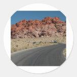 Canyon Classic Round Sticker
