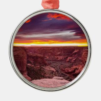 Canyon de Chelly, sunset, Arizona Christmas Ornament