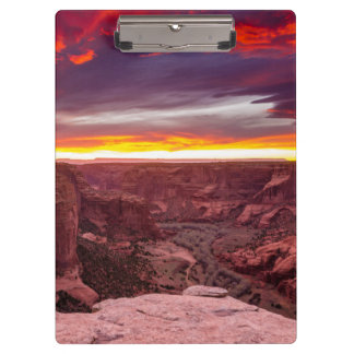 Canyon de Chelly, sunset, Arizona Clipboards