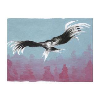 Canyon Eagle 2014 Canvas Print