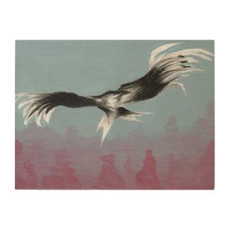 Canyon Eagle 2014 Wood Print