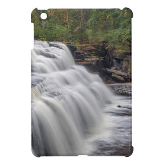 Canyon Falls On The Sturgeon River Near L'Anse Cover For The iPad Mini