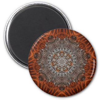 Canyon Feathers 6 Cm Round Magnet