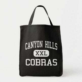 Canyon Hills - Cobras - Middle - El Paso Texas Canvas Bags