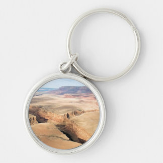 Canyon in the Canyon Silver-Colored Round Key Ring