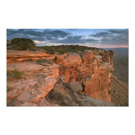 Canyon overlook in the Island in the sky Photograph
