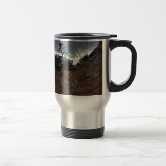 Canyon Overlook Trail Zion National Park Stainless Steel Travel Mug