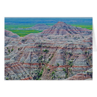 """Canyon Stripes"" collection Greeting Card"