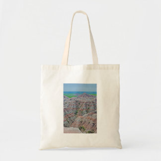 """""""Canyon Stripes"""" collection Budget Tote Bag"""