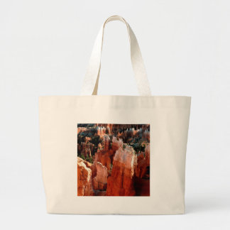 Canyon Tower View Bryce Canvas Bags