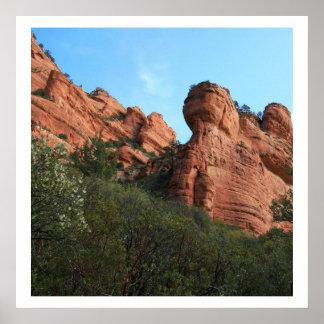 Canyon Walls Poster