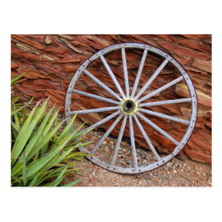 Canyon Wheel Postcard