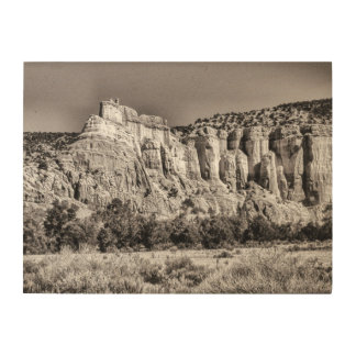 Canyon Wood Print