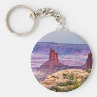 Canyonland Views Utah Key Ring