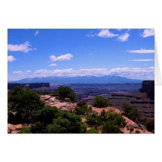 Canyonlands National Park Card