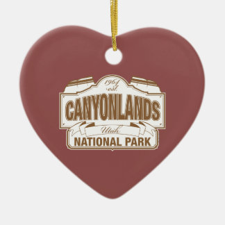 Canyonlands National Park Christmas Ornament