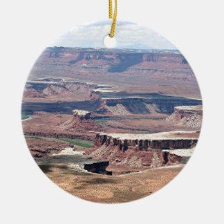 Canyonlands National Park, Utah, USA 8 Christmas Ornament