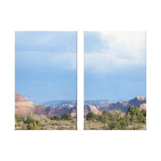 Canyonlands Sky Stretched Canvas Print