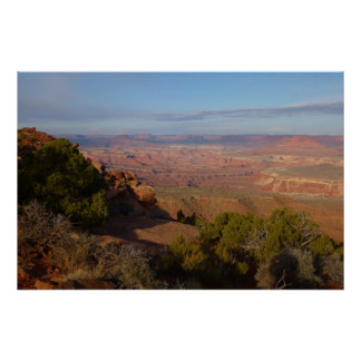Canyonlands View from Grand View Point Trail Poster