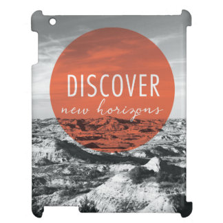 Canyons | Discover New Horizons Quote iPad Cover