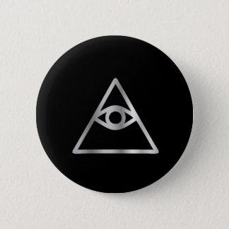 Cao dai Eye of Providence- Religious icon 6 Cm Round Badge