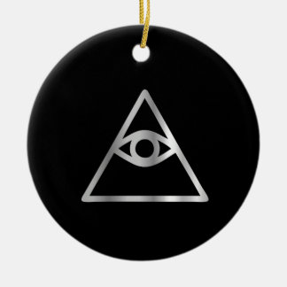 Cao dai Eye of Providence- Religious icon Christmas Ornament
