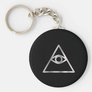 Cao dai Eye of Providence- Religious icon Key Ring
