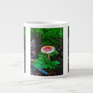"""Cap and Stem"" Giant Coffee Mug"