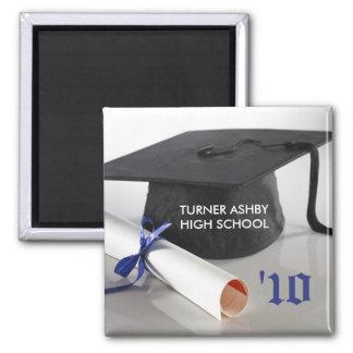 Cap and Tassel Custom Graduation Keepsake Magnet