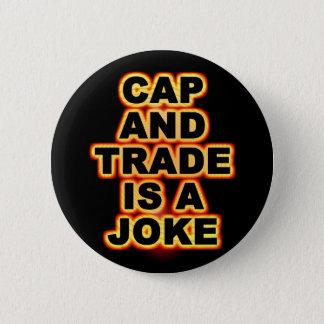 Cap And Trade 6 Cm Round Badge