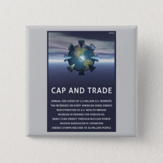Cap And Trade Destroys 15 Cm Square Badge