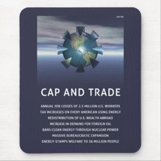 Cap And Trade Destroys Mouse Pad