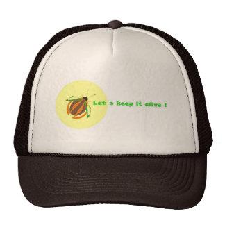 Cap & Beetle Trucker Hat