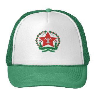 cap blazon of mines trucker hats
