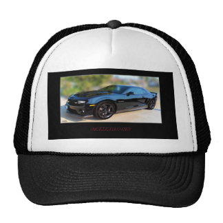 CAP CAMARO SUPER SPORT TRUCKER HAT