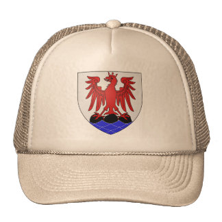 Cap - Coat of Arms, Nice, France Mesh Hats