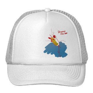 Cap Dizzy Mouse - Fishing Mouse. Mesh Hats