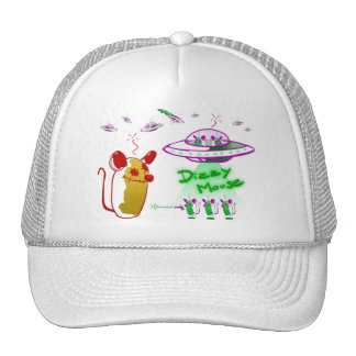 Cap Dizzy Mouse - UFO Mouse. Trucker Hats