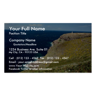 Cap Frehel Brittany France in Europe Business Card Template