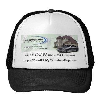 Cap, http://YourID.MyWirelessRep.com Cap